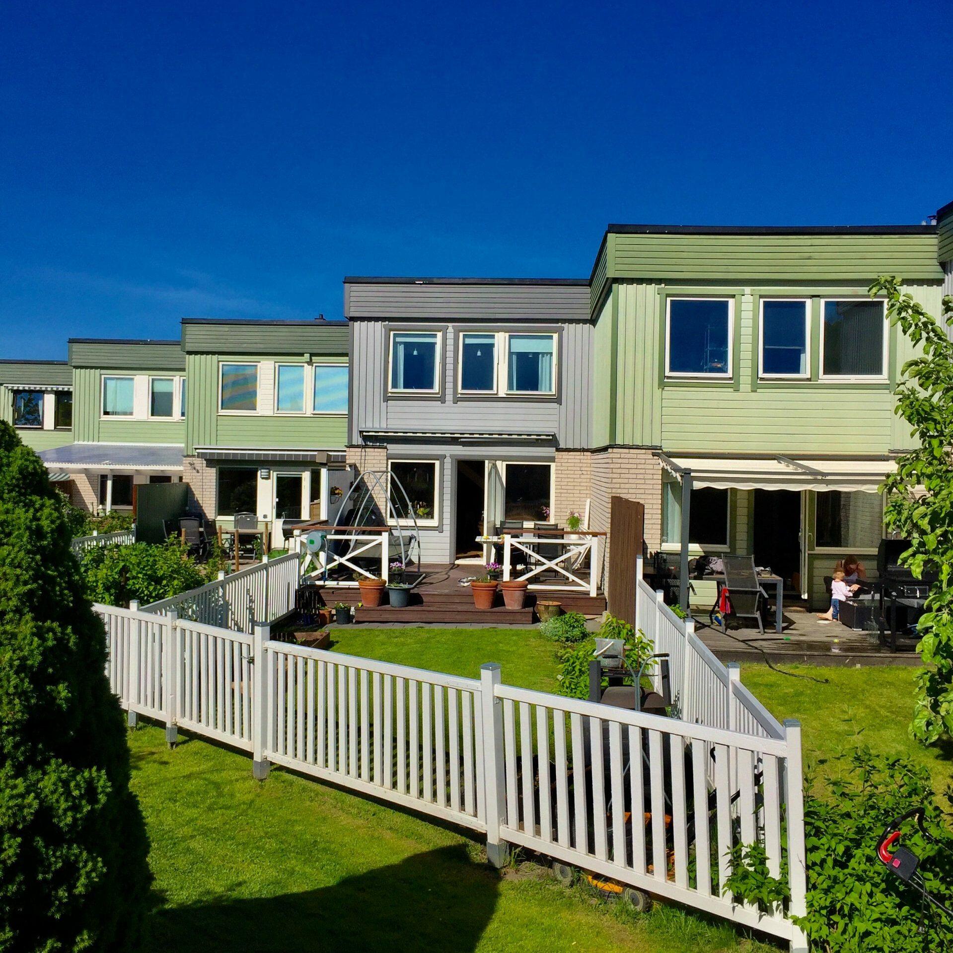 Måla om huset, villan, bostadsrättsföreningen el. lägenheten nu i vår eller sommar